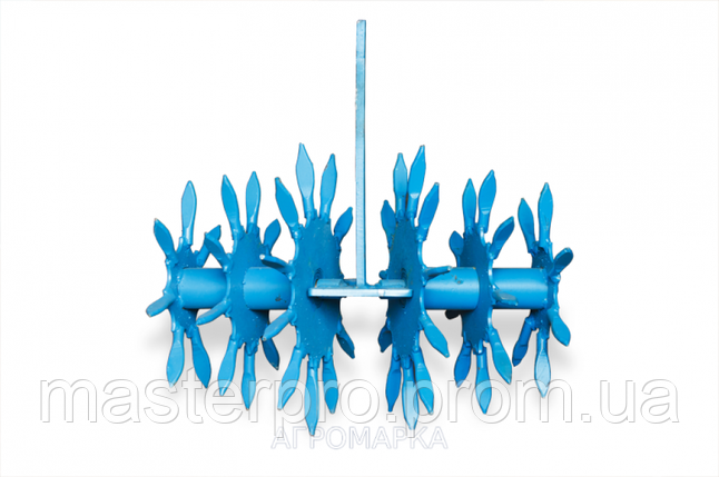 Їжачок — розпушувач ( Вага виробу 22 кг, діаметр по рыхлителям 240мм, товщина стійки 10мм ), фото 2