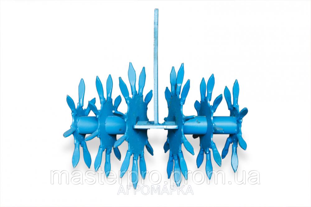 Їжачок — розпушувач ( Вага виробу 22 кг, діаметр по рыхлителям 240мм, товщина стійки 10мм )