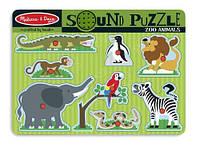Пазл детский Зоопарк Melissa&Doug MD727 (звук)