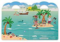 Объемные наклейки Пираты Melissa&Doug MD9102