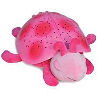 """Детский  ночник """"Розовая Божья Коровка"""" Twilight Ladybug - Pink Cloud B 7353-PK"""