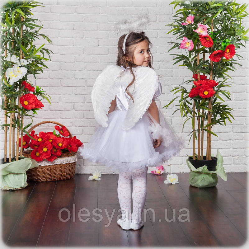 Детский Карнавальный костюм Ангел, костюм ангела для девочки, новогодний костюм детский, дропшиппинг  украина