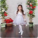 Детский Карнавальный костюм Ангел, костюм ангела для девочки, новогодний костюм детский, дропшиппинг  украина, фото 2