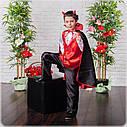 Детский Карнавальный костюм Чертик, костюм чертика, Вампир, новогодний костюм детский, дропшиппинг  украина, фото 2