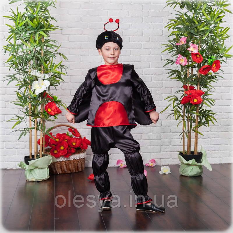 Детский маскарадный костюм Божья коровка, костюм насекомого, костюм карнавальный, дропшиппинг