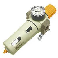 """Фильтр-регулятор с индикатором давления для пневмосистемы 3/4"""""""