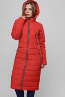 Жіноча демісезонна подовжена куртка Лора, фото 1