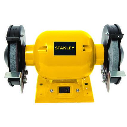 Точило STANLEY, 370 Вт, абразивний диск 150 мм,  2950 об/хвил., захист.