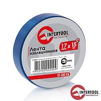 Ізолента (синя) InterTool розмір-17мм х 15м