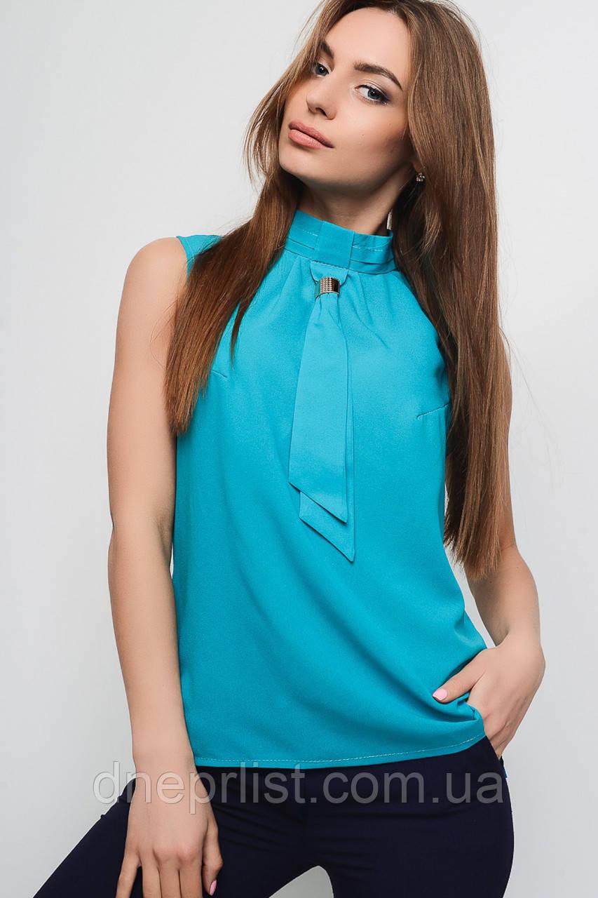 Блуза женская №7 (голубой)