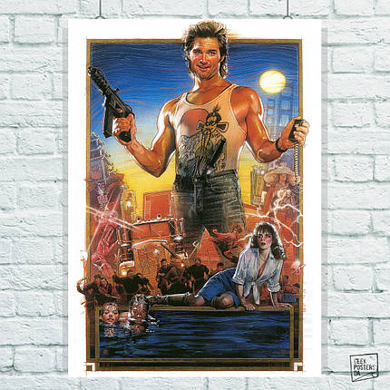 Постер Большой переполох в маленьком Китае / Big Trouble in Little China (1986). Размер 60x40см (A2). Глянцевая бумага, фото 2