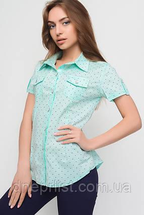 Сорочка жіноча №9 (зелений), фото 2