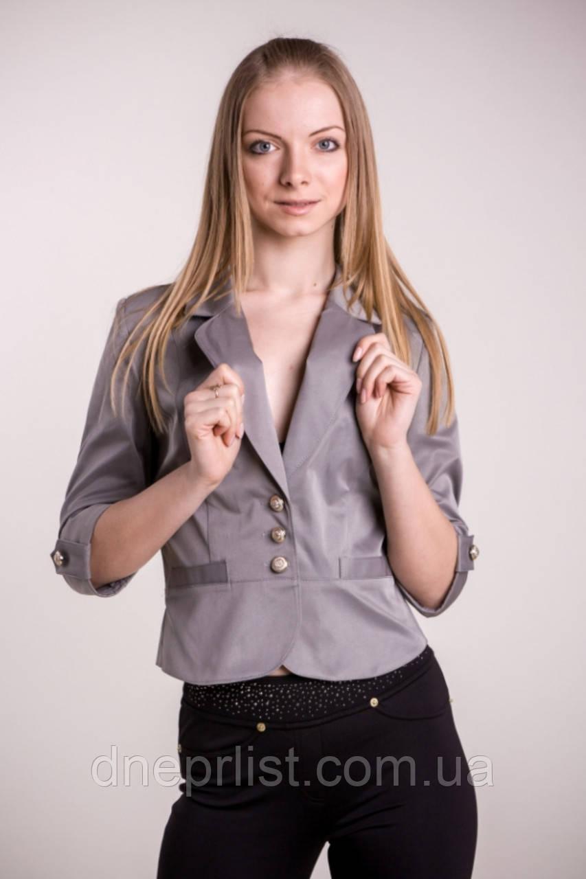 Піджак жіночий №12 (сірий)