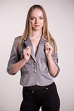 Пиджак женский №12 (серый)