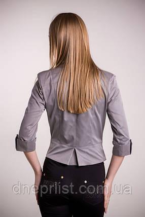 Піджак жіночий №12 (сірий), фото 2