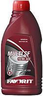 Масло моторное Favorit Multi SF SAE 15W-40 API SF/CD 1л