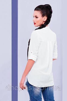 """Блуза женская """"Michelle"""" (белый), р.42-48, фото 2"""