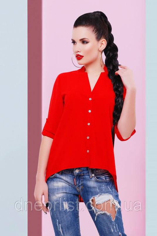 """Блуза жіноча """"Michelle"""" (червоний), р. 42-48"""