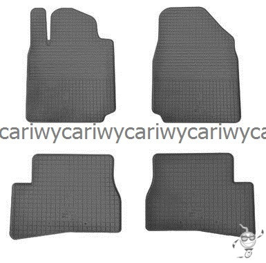 Коврики резиновые в салон Nissan Micra K13 13- 4шт. Stingray