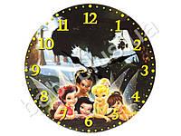 """Часы настенные детские """"Лесные феи"""" круглые кварц. МДФ 25см"""