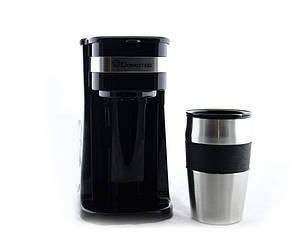 Капельная кофеварка DOMOTEC MS-0709 с металической кружкой (sp4281)