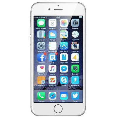 Apple iPhone 6 64GB Silver Refurbished (hub_BXDo93130)