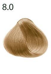 """Faberlic Стойкая питательная крем-краска для волос тон 8.0 """"Пшеничный блонд"""" Botanica арт 8776"""