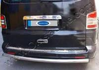 Защитная накладка на задний бампер (Volkswagen T5)
