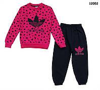 Теплый костюм Adidas для девочки. 5, 6 лет, фото 1