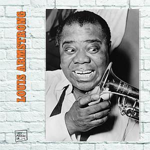 Постер Armstrong Lui (труба и улыбка) (60x85см)