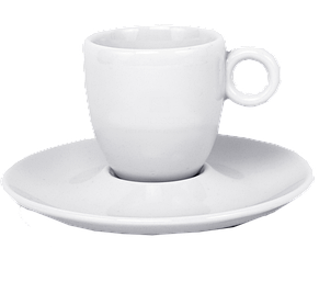 Чашка с блюдцем эспрессо 90 мл, фото 2