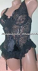 1565КС Эротическое белье Сексуальный комплект Эротический корсет Качественное эротическое белье, фото 3
