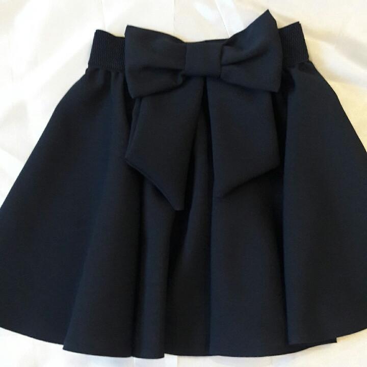 """Красивая школьная юбка для девочки """"Бант"""""""