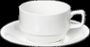 Чашка с блюдцем для американо 220 мл, фото 2