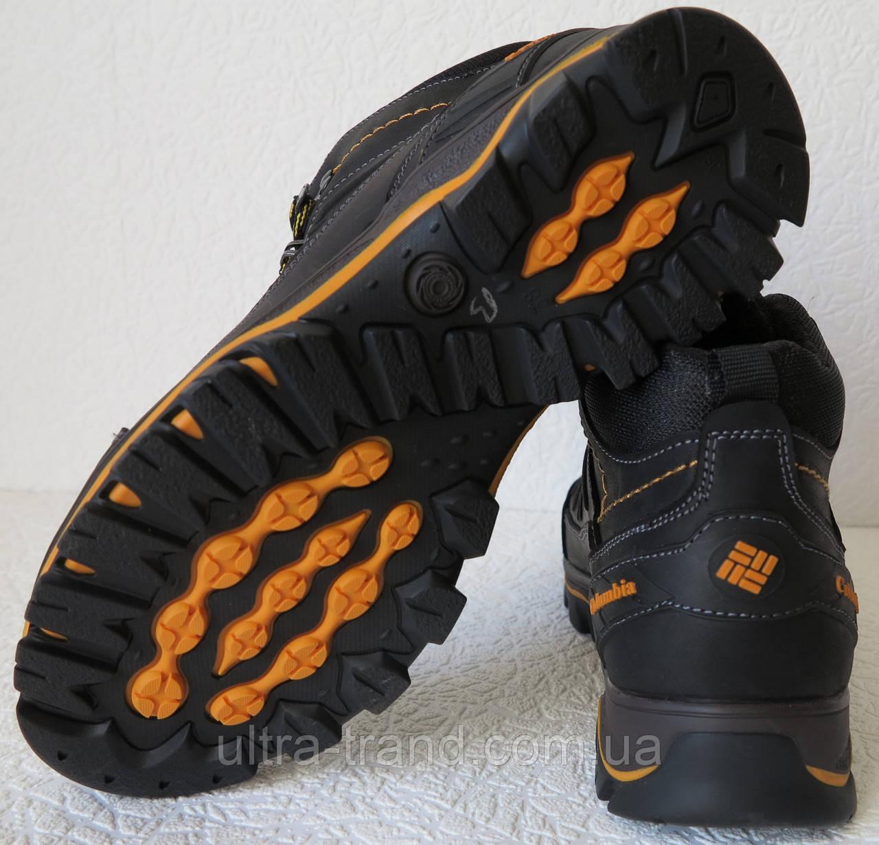 7d96acf07c0f ... Columbia детские подростковые кожаные зимние ботинки с мехом реплика  Коламбия синие, ...