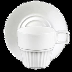 Чашка с блюдцем каппучино 180 мл, фото 2