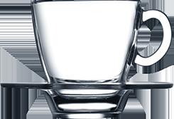Чашка с глубоким блюдцем 70 мл, фото 2