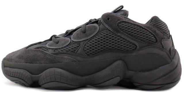 """Мужскиекроссовки adidas Yeezy 500 Utility """"Black"""" (Адидас Изи) черные"""