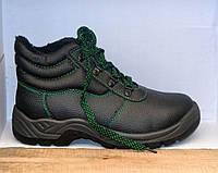 Оригинальные зимние кожаные ботинки на меху REIS BRR (Польша)