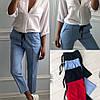 Женские льняные штаны в расцветках. КС-3-0918, фото 4