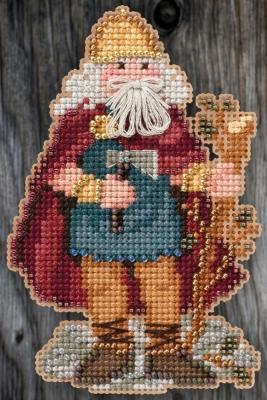 Набор для вышивки Mill Hill Wales Santa