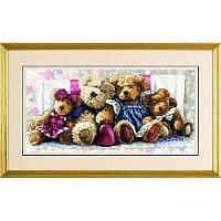 Набор для вышивания Dimensions 35039 A Row of Love Cross Stitch Kit, фото 1