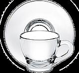 Чашка с толстым дном с блюдцем 80 мл, фото 3
