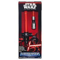 Электронный раскладной световой меч Кайло Рэна - Electronic Lightsaber Kylo Ren, Star Wars, Hasbro