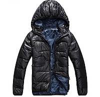 Куртка мужская North Face. Черная и синяя., фото 1