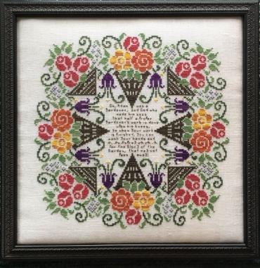 Схема для вышивки Glory to the Garden