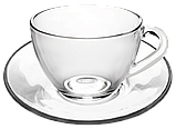 Чашка с блюдцем 200 мл, фото 3