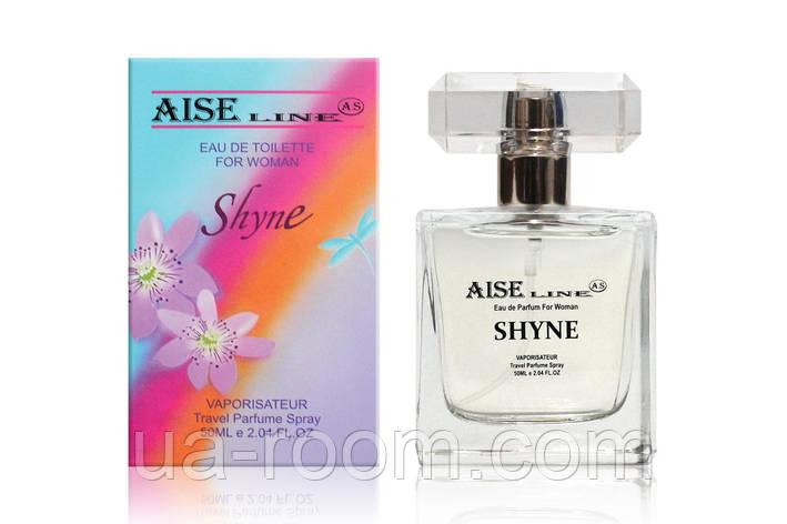"Парфюмированный спрей Aise Line ""Shyne"" (аналог Salvatore Ferragammo Incanto Shine), 50 мл., фото 2"