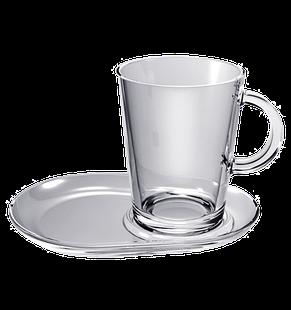 Чашка с большим блюдцем 400 мл, фото 2