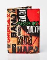 "Обложка на паспорт ""Rock"""